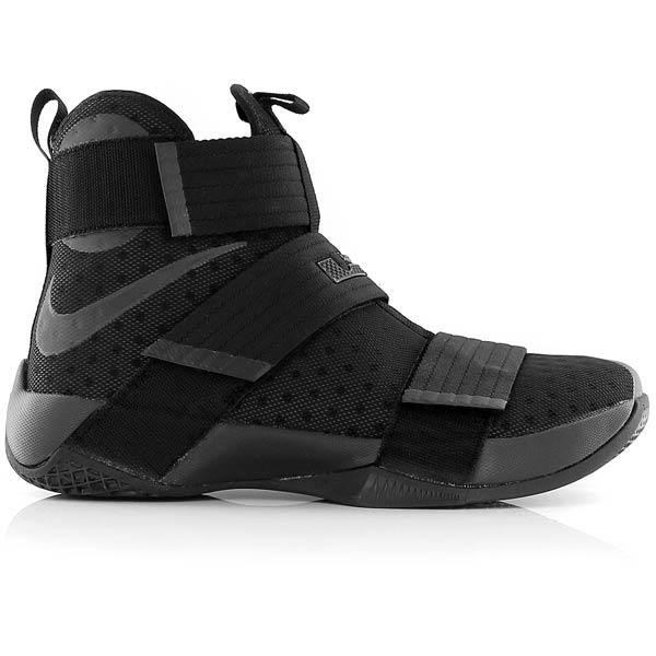 new product 5f5a3 bd08e NIKE Lebron Soldier 10 Black/Black