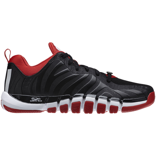 5b2a11f037be ADIDAS D Rose Englewood II Black Red